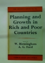 Planning and Growth in Rich and Poor Countries.