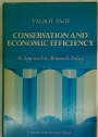 Conservation and Economic Efficiency. An Approach to Materials Policy.
