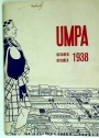 UMPA. University of Witwatersrand. Volume 23, No 2, October 1938.