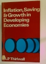 Inflation, Saving and Growth in Developing Economies.