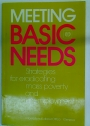 Meeting Basic Needs. Strategies for Eradicating Mass Poverty and Unemployment.