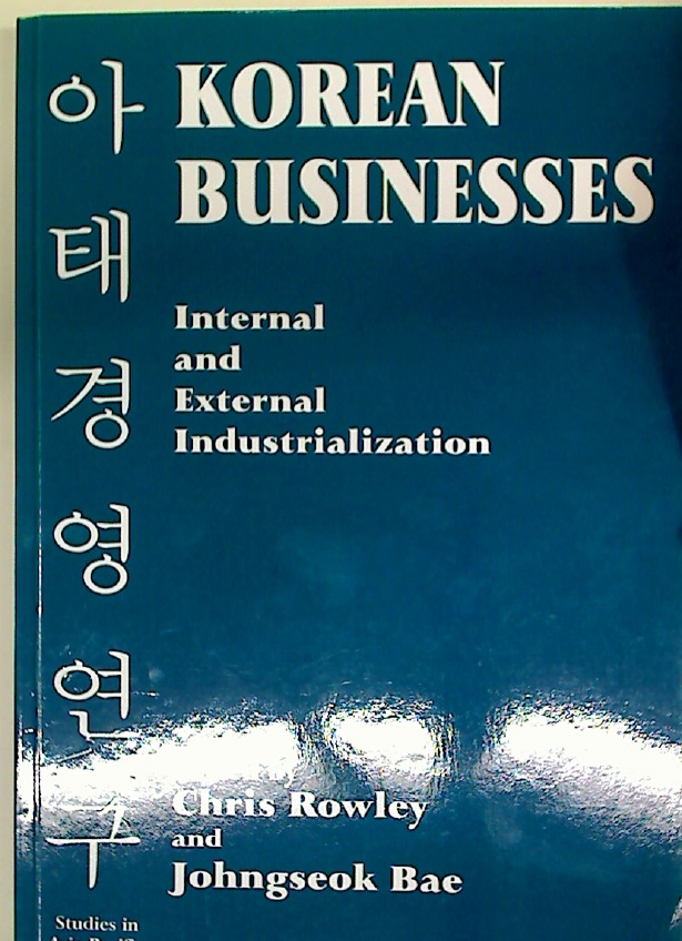 Korean Businesses. Internal and External Industrialization.
