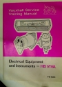 Vauxhall Service Training Manual and Supplements. HB Viva.
