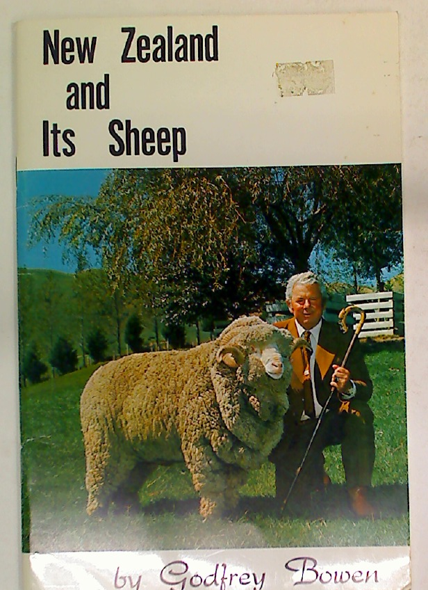 New Zealand and its Sheep.