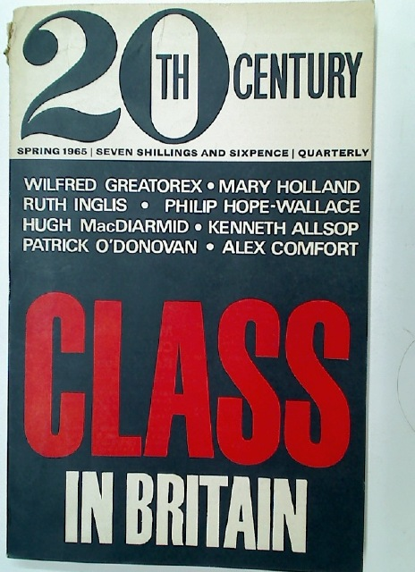 Class in Britain (20th Century Spring 1965)