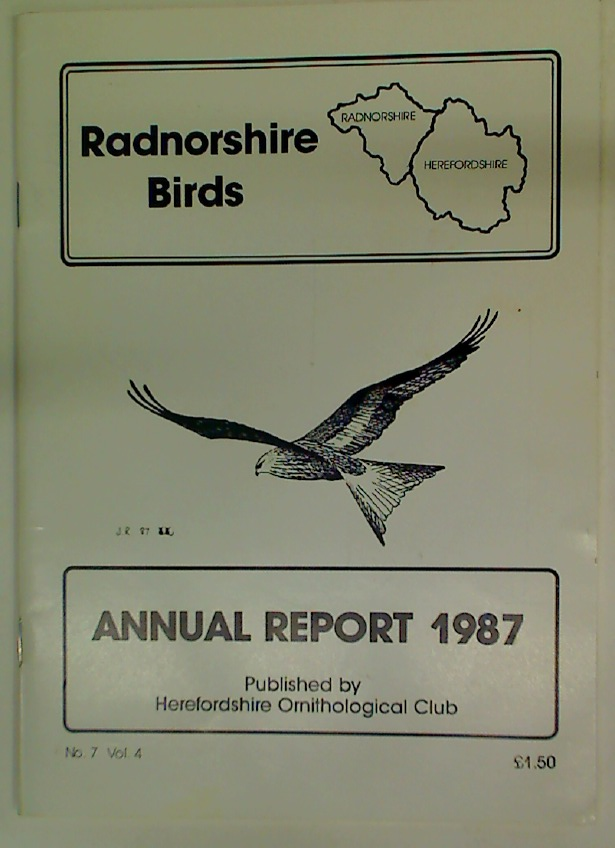 Radnorshire Birds. Annual Report 1987.