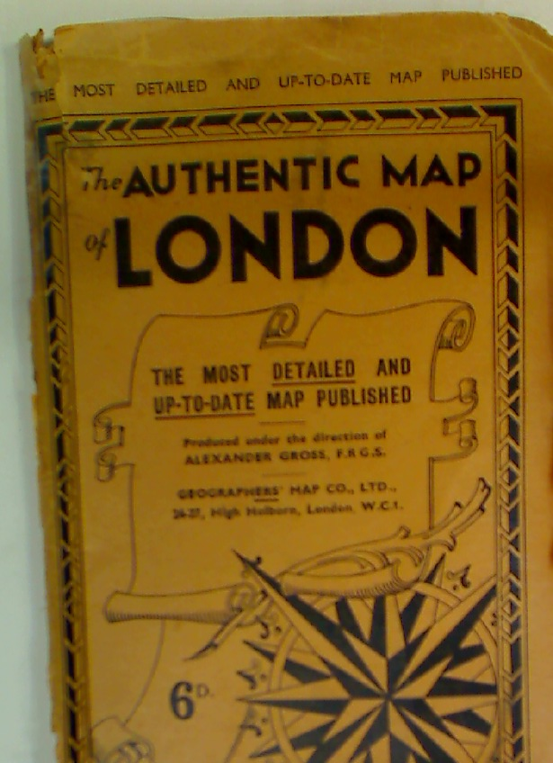 The Authentic Map of London.