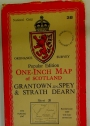 Popular Edition. One-Inch Map of Scotland. Grantown-on-Spey and Straith Dearn. Sheet 38.
