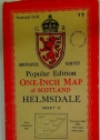 Popular Edition. One-Inch Map of Scotland. Helmsdale. Sheet 17.