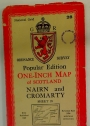 Popular Edition. One-Inch Map of Scotland. Nairn and Cromarty. Sheet 28.