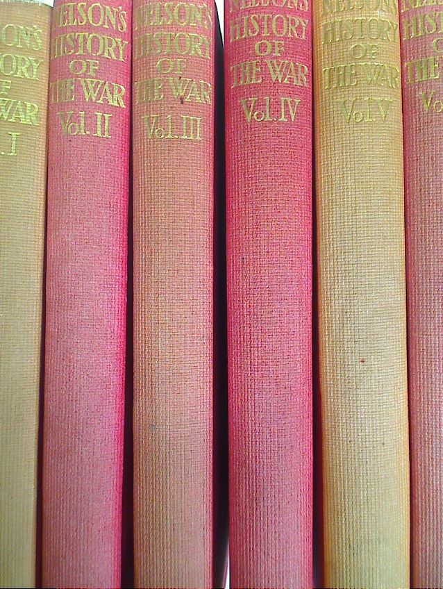 Nelson's History of the War. 24 Volume Complete Set.