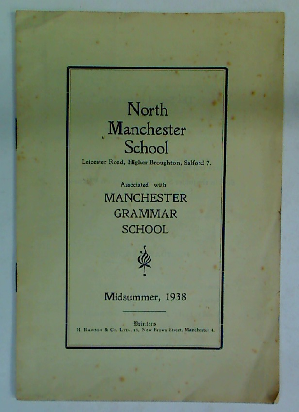 North Manchester School. Midsummer, 1938.