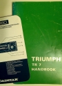 Triumph TR7 Handbook Publication Part No. RTC 9210.