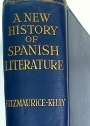 A New History of Spanish Literature.