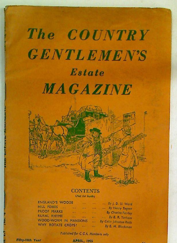 The Country Gentlemen's Estate Magazine. April 1955.