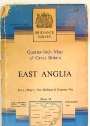 Quarter-Inch Map of Great Britain: East Anglia.