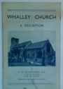 Whalley Church. A Description.