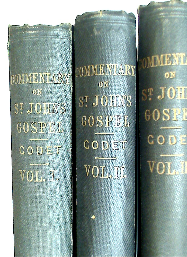 Commentary on the Gospel of St John. With a Critical Introduction. Translated from the Last Edition by M D Cusin. Third Edition. Complete Set.