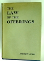 The Law of the Offerings.