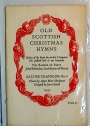 Old Scottish Christmas Hymns. Designed by Joan Hassall.