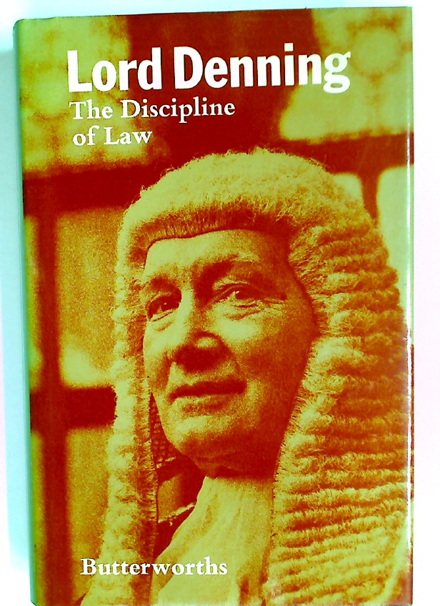 The Discipline of Law.