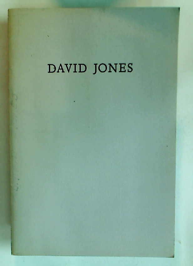 David Jones: Inscriptions.