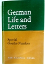 Special Goethe Number (German Life and Letters)