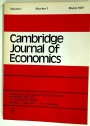 Cambridge Journal of Economics. Volume 1, No 1, March 1977.