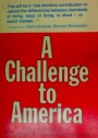 A Challenge to America.