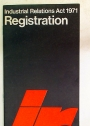 Registration. Industrial Relations Act 1971.