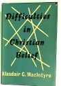 Difficulties in Christian Belief.