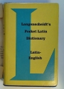 Langenscheidt's Pocket Latin Dictionary. Latin - English.