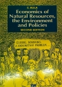 Economics of Natural Resources, the Environment and Policies.