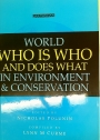World Who is Who and Does What in Environment and Conservation.