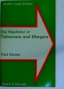 The Regulation of Takeovers and Mergers.