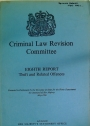 Criminal Law Revision Committee. Eighth Report, Theft and Related Offences.
