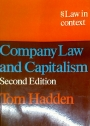 Company Law and Capitalism.