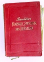 Norway, Sweden and Denmark, with Excursions to Iceland and Spitzbergen. Handbook for Travellers. Tenth Edition.