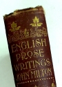 English Prose Writings of John Milton.