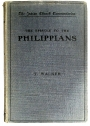 The Epistle to the Philippians.