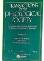 Agreement: A Typological Perspective. Special Issue of Transactions of the Philological Society.