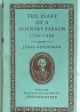 The Diary of a Country Parson 1758 - 1802.