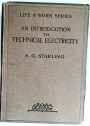 An Introduction to Technical Electricity.