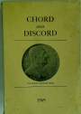 Chord and Discord: A Journal of Musical Progress. Volume 3, No.1 1969.