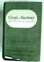 Gray's Anatomy, Descriptive and Applied. Twenty-Ninth Edition.