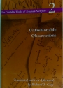 Unfashionable Observations. Complete Works of Friedrich Nietzsche 2.