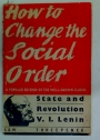 How to Change the Social Order.