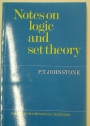 Notes on Logic and Set theory.