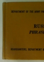 Russian Phrase Book.