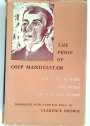 The Prose of Osip Mandelstam: The Noise of Time, Theodosia, The Egyptian Stamp.